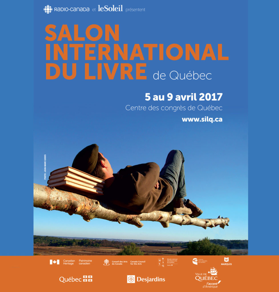 Salon international du livre de qu bec 2017 centre des for Salon du livre 2017
